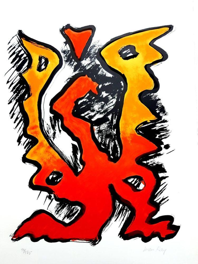Lithograph Ray - La Flamme