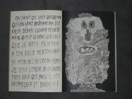 Illustrated Book Dubuffet - La fleur de barbe
