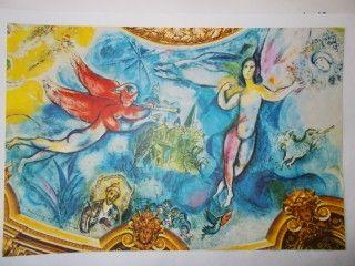 Lithograph Chagall - La flute enchantée
