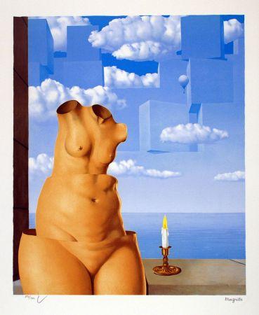 Lithograph Magritte - La Folie des Grandeurs II