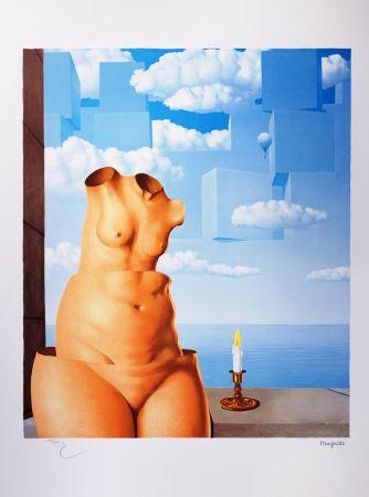 Lithograph Magritte - La Folie des Grandeurs II (Megalomania)