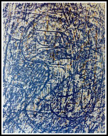 Lithograph Ernst - LA FORET BLEUE