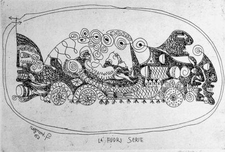 Engraving Rognoni - La fuoriserie