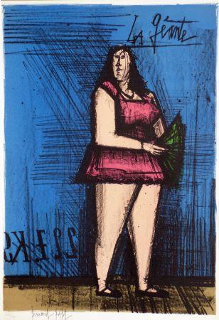 Lithograph Buffet - La géante