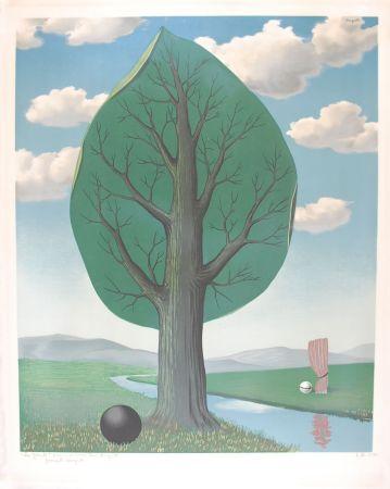 Lithograph Magritte - La Géante