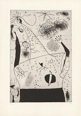 Drypoint Miró -