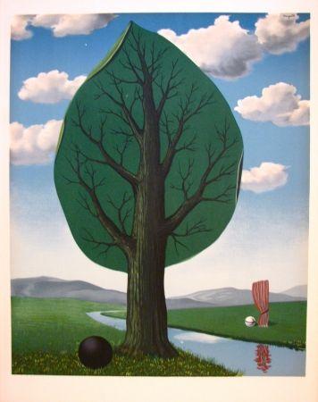 Lithograph Magritte - La géante II