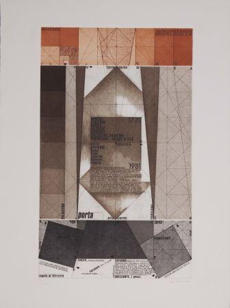 Etching And Aquatint Pomodoro - La geometria prattica