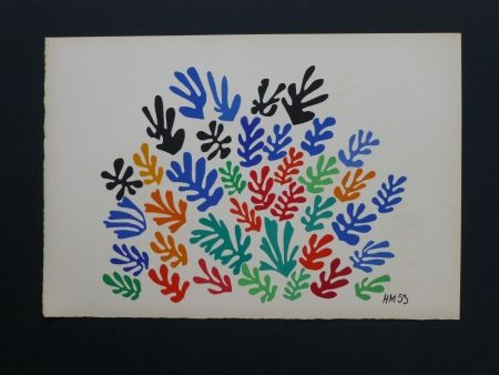 Lithograph Matisse - La gerbe, 1953