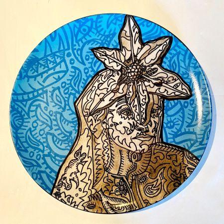 Ceramic Combas - La Gitane magicienne