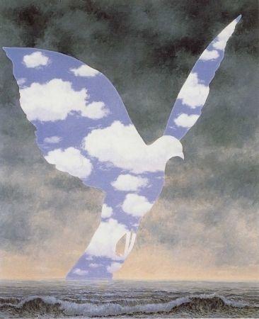 Lithograph Magritte - La grande famille