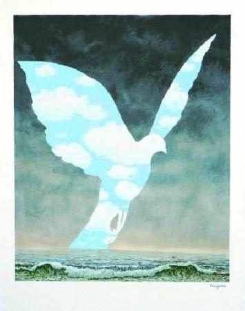 Lithograph Magritte - La Grande Famille, 1963