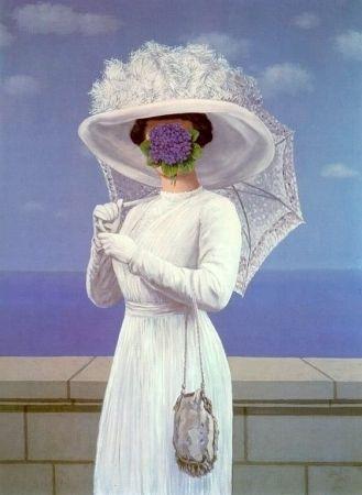 Lithograph Magritte - La grande guerre