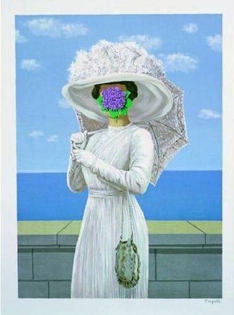 Lithograph Magritte - La grande guerre, 1964