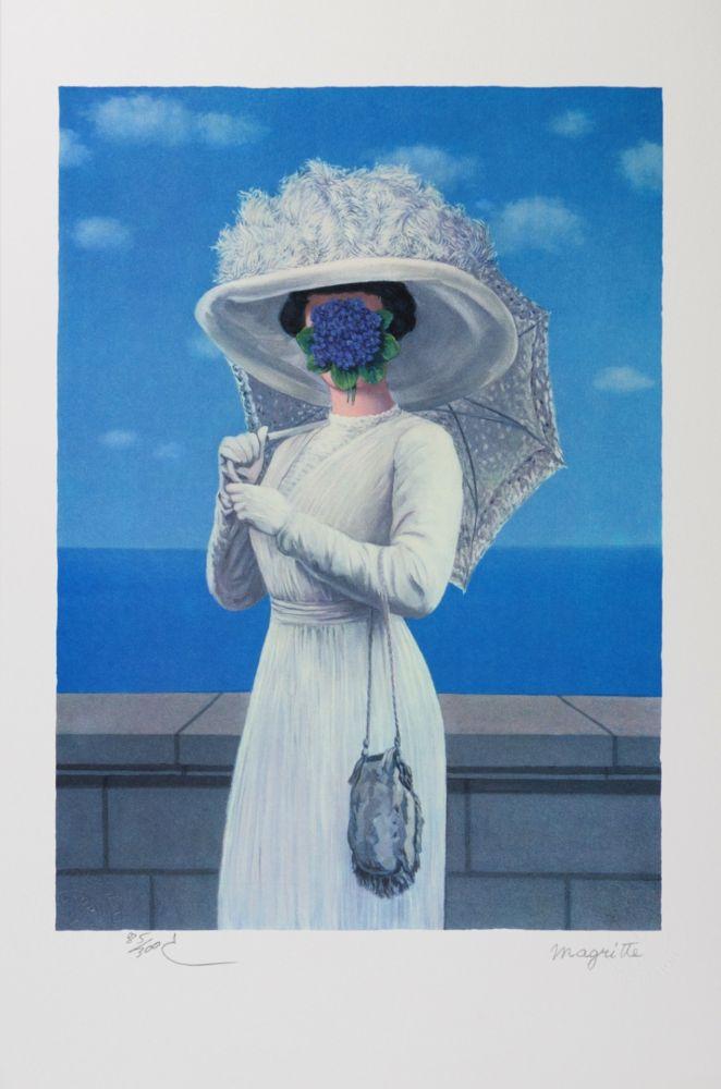 Lithograph Magritte - La Grande Guerre (The Great War)