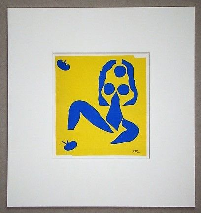 Lithograph Matisse (After) - La grenouille - 1952