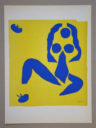 Lithograph Matisse (After) - La grenouille - 1953