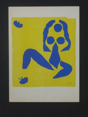 Lithograph Matisse - La grenouille, 1952