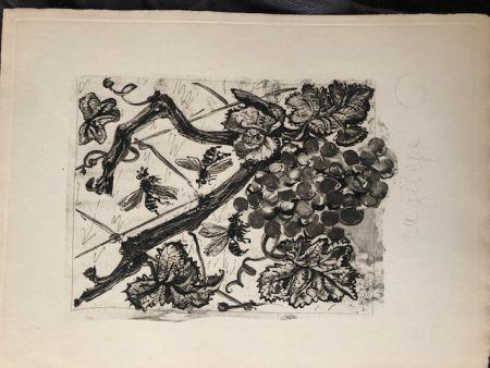 Aquatint Picasso - La guêpe