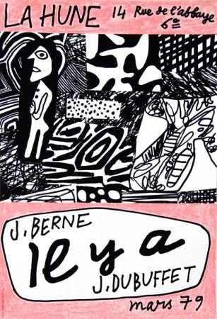 Poster Dubuffet - La Hune  J Berne Il y a