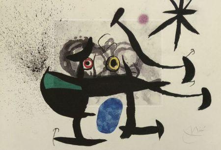 Etching And Aquatint Miró - La Invención de la mirada