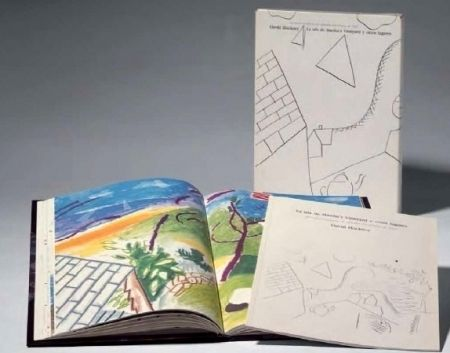 Illustrated Book Hockney - La Isla de Martha Vineyard y otros lugares