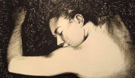 Lithograph Joliet - La jeteuse de rêve