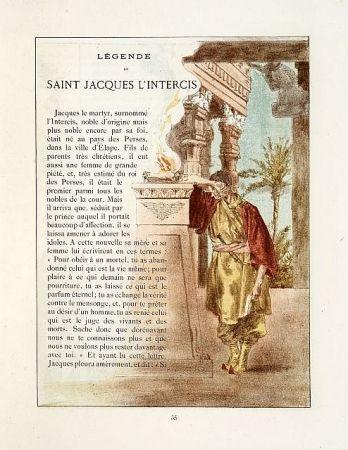 Illustrated Book Lunois - La légende dorée