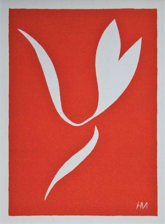 Linocut Matisse - La Lance