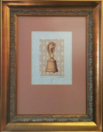 Etching Magritte - LA LECON DE MUSIQUE