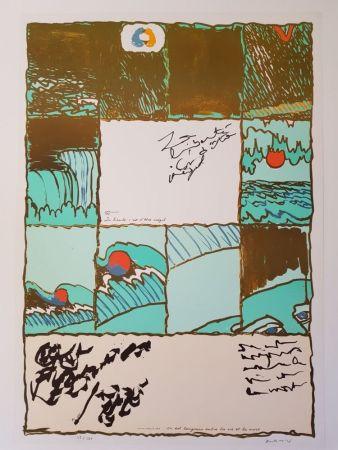 Lithograph Alechinsky - La liberté c'est d'être inégal