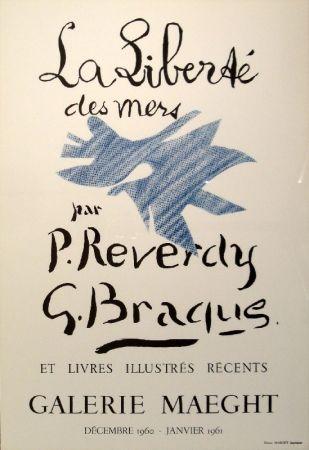 Lithograph Braque - La Liberté des mers