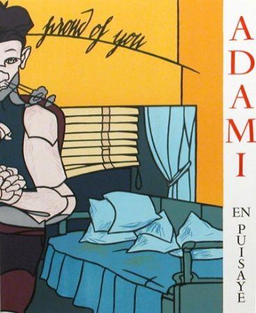 Illustrated Book Adami - La ligne narative