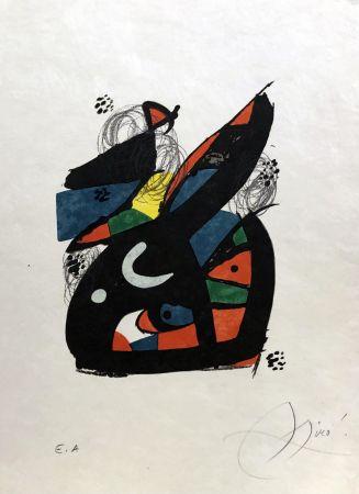 Lithograph Miró - La mélodie acide - 13