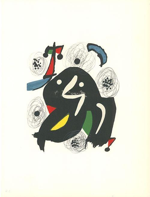 Lithograph Miró - La mélodie acide - 4