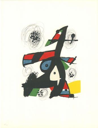 Lithograph Miró - La mélodie acide - 5