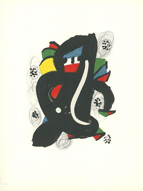 Lithograph Miró - La mélodie acide - 6