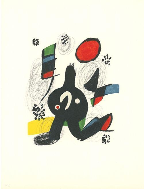 Lithograph Miró - La mélodie acide - 7