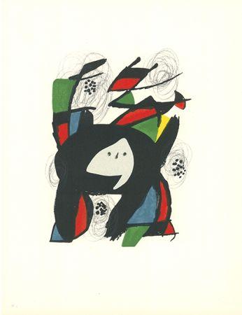 Lithograph Miró - La mélodie acide - 8
