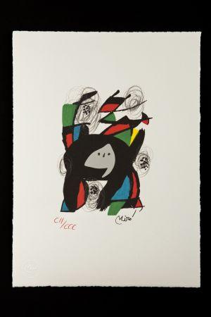 Lithograph Miró - La mélodie acide VIII