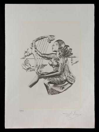 Lithograph Dali - La música