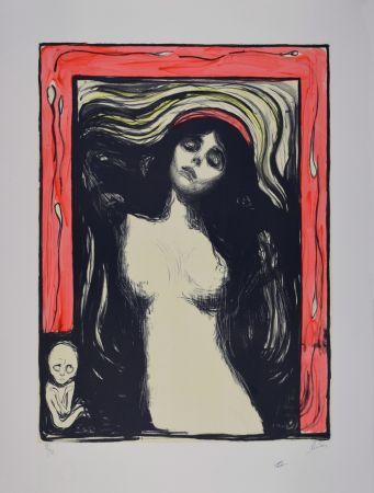 Lithograph Munch - La Madone / Madonna - 1895