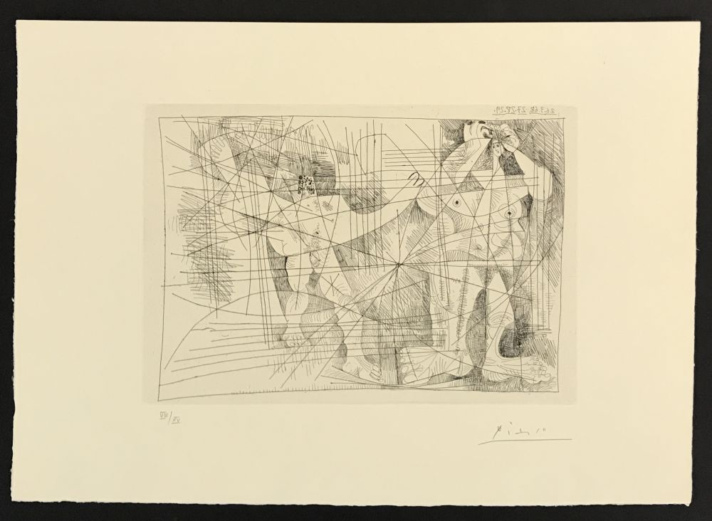 Etching Picasso - La Magie Quotidienne