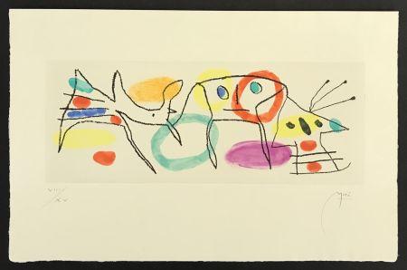 Etching Miró - La Magie Quotidienne