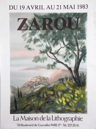 Lithograph Zarou - La Maison de la Lithographie