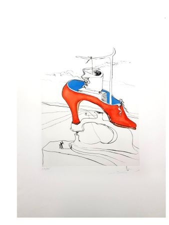Lithograph Dali - La Malédiction Vaincu