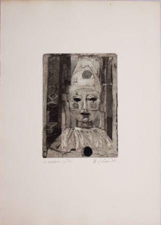 Engraving Calandri - La maschera
