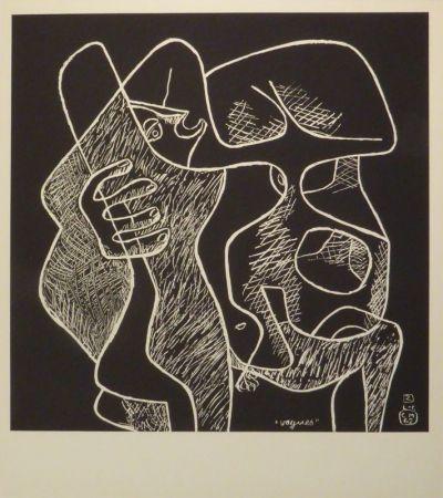 Lithograph Le Corbusier - La mer est toujours présente