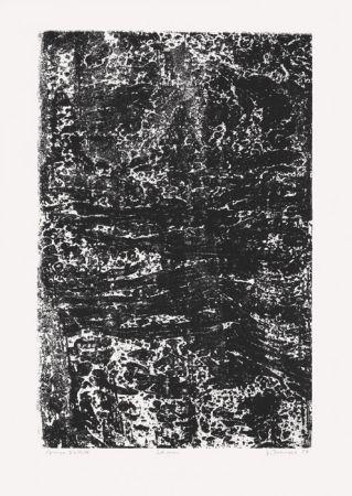 Lithograph Dubuffet - La Mer (Phénomènes)