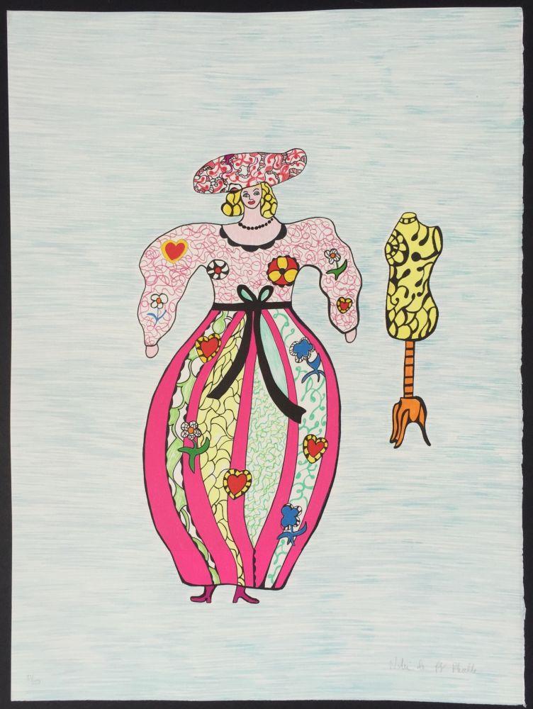 Lithograph De Saint Phalle - La Modiste